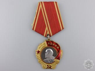 A Soviet Order of Lenin in Gold & Platinum