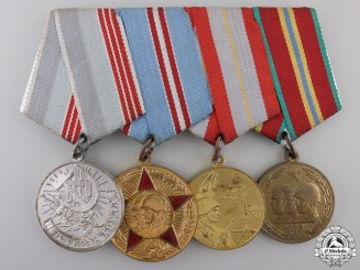 A Soviet Russian Medal Bar