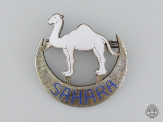 A Spanish Army Sahara Badge