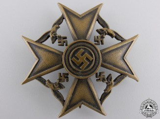 A Spanish Cross without Swords; Bronze Grade