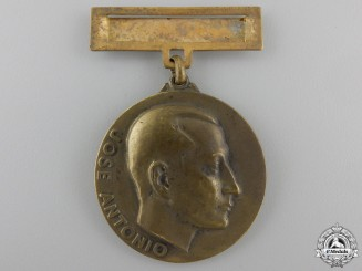 A Spanish Falange Twenty-Fifth Anniversary of the Women's Division Medal