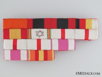 A Spanish Four Level Ribbon Bar