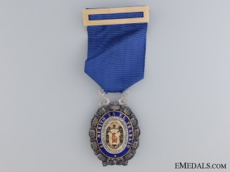 A Spanish Industrial Award for Merit; Breast Badge