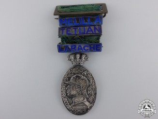 A Spanish Officier's  Medal for the Morocco Campaign