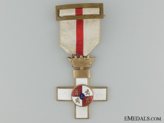 A Spanish Order of Military Merit; Breast Badge