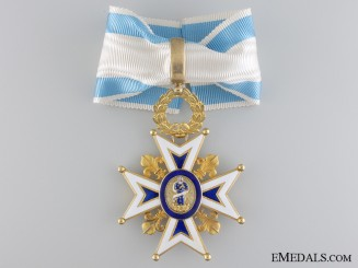 A Spanish Order of Charles III in Gold; Commander