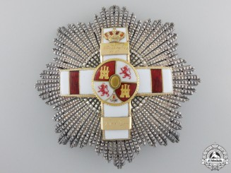 A Spanish Order of Military Merit; Engraved 1918
