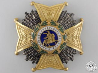 A Spanish Royal and Military Order of Saint Hermenegildol Breast Star