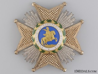 A Spanish St. Hermengildo Order; Grand Cross Star