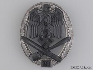 A Special Grade Assault Badge; Grade II (25), by Josef Feix Söhne, Gablonz
