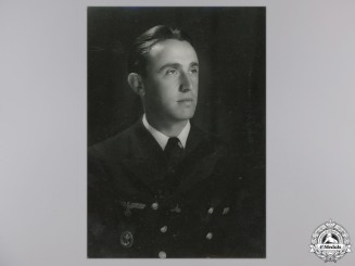 A Studio Photograph of Croatian Naval Officer