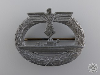 A Submarine War Badge by Friedrich Orth