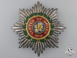 Bavaria, Kingdom. A Merit Order of the Crown, Grand Cross Star, c.1840