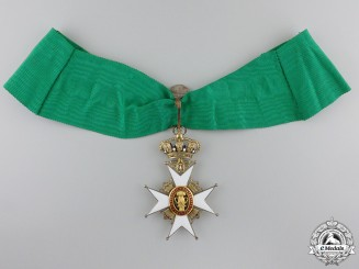 A Swedish Order of Vasa; Commanders Neck Badge