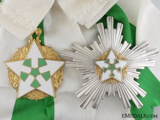 A Syrian Order of Merit; Grand Cross Set