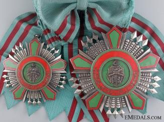 A Tunisia Order of the Republic; Grand Cross Set, Type II