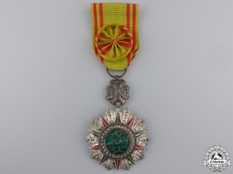 Tunisia. An Order of Nishan el Iftikar; Named to Capt. Ross 1945