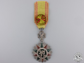 A Tunisian Order of Nichan Iftikhar; Knight