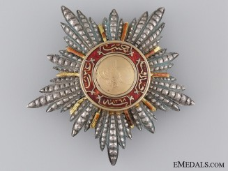 A Turkish Order of Mejidie; Breast Star