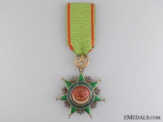 A Turkish Order of Osmania (Osmanli); Breast Badge