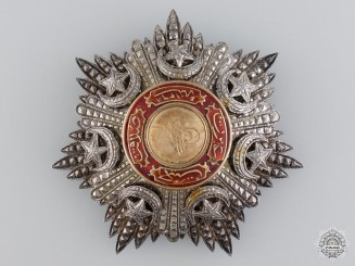 A Turkish Order of Medjidie (Mecidiye); Breast Star