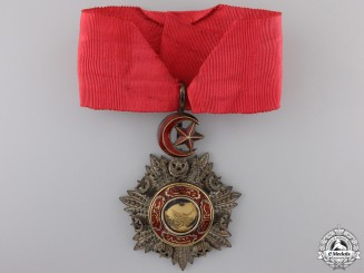 A Turkish Order of Mejidie (Mecidiye); Commanders