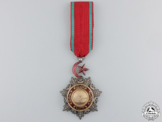 A Turkish Order of Medjidie (Mecidiye); Knight Breast Badge