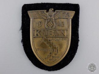 A Uniform Removed Kuban Shield for Panzer Units