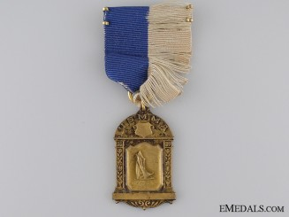 A United States Merchant Marine Academy Medal; Numbered