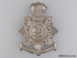 A Victorian 90th Winnipeg Battalion of Rifles Helmet Plate