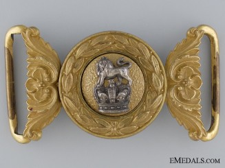 A Victorian General Service Belt Buckle