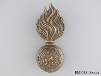 A Victorian Northumberland Fusiliers Glengarry Badge