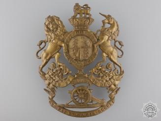 Canada. A Victorian Royal Canadian Artillery Helmet Plate
