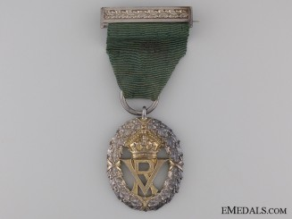 A Victorian Volunteer Officers' Decoration; Unnamed