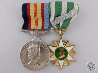 A Vietnam Medal Pair to the Royal Australian Regiment