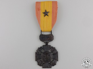 A Vietnamese Gallantry Cross