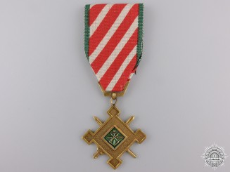 A Vietnamese Staff Service Medal; 1st Class for Officers