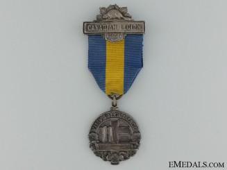 A Vimy Pilgrimage 1936 Medal by J.R.Gaunt
