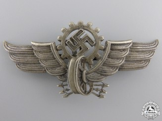 A Visor Cap Badge for Electric Streetcar Operator