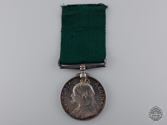 A Volunteer Long Service & Good Conduct Medal; Victoria