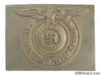 A Waffen-SS Belt Buckle