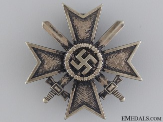 A War Merit Cross; 1st Class by Julius Bauer Söhne