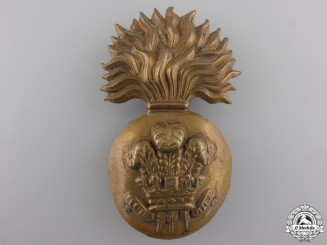 A Welsh Fusiliers Raccoon Skin Badge