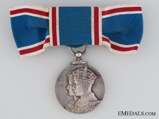A Woman's Coronation Medal 1937