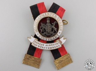 A Wurttemberg First War Veteran's Badge by Mayer