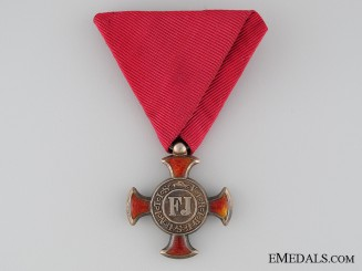 A WWI Austrian Merit Cross; 4th Class