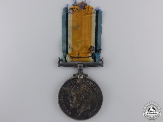 A WWI British War Medal to the 22nd Infantry Battalion; KIA