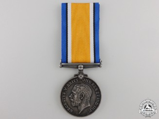 A WWI British War Medal to the Nova Scotia Regiment