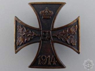 A WWI Brunswick-Ernst-August Cross; First Class