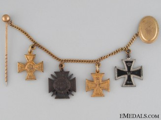 A WWI German Imperial Miniature Group